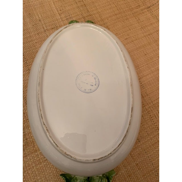 1970s Trompe l'Oeil Covered Vegetable Dish For Sale In New York - Image 6 of 8