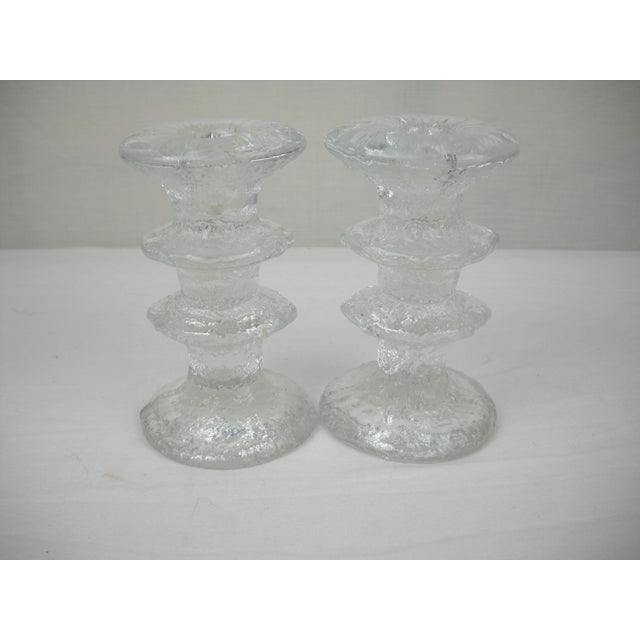 Danish Modern 1960s Timo Sarpaneva Candle Holders - A Pair For Sale - Image 3 of 8