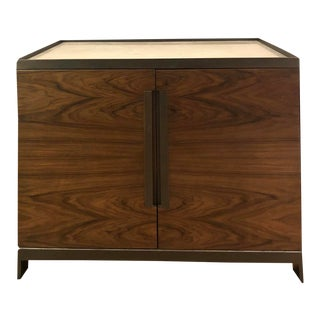 Donghia by Joseph Jeup Marble Top Cabinet Bar For Sale
