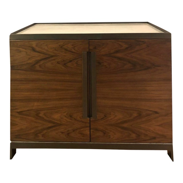 Donghia By Joseph Jeup Marble Top Cabinet Bar Chairish