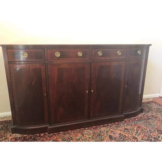 Mahogany Baker Historic Charleston Reproduction Credenza in excellent condition. Production Date 5/21/2007. Purchased from...