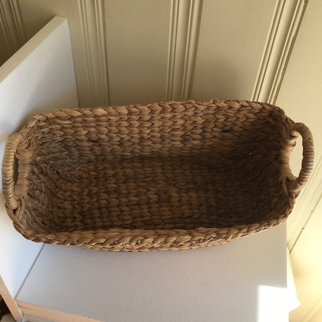 Boho Seagrass Rope Basket - Image 4 of 8