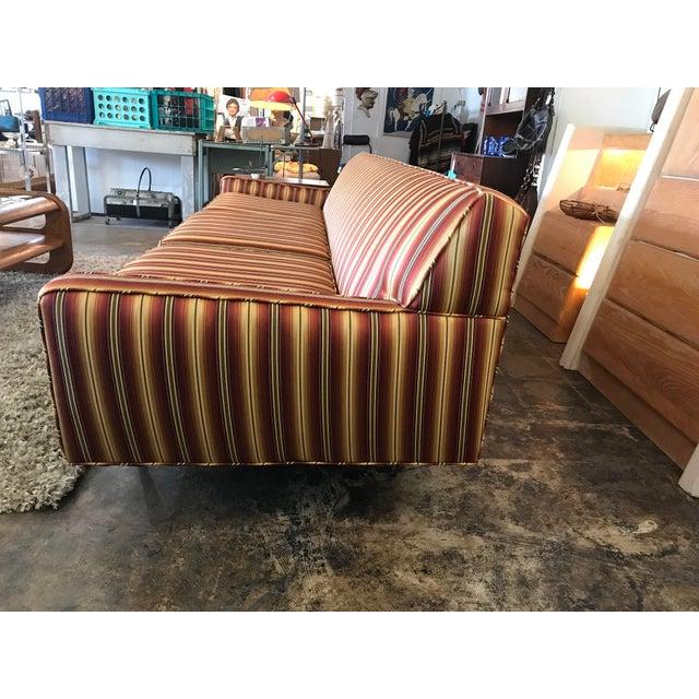 Mid-Century Modern Mid Century Sofa Style of Milo Baughman For Sale - Image 3 of 8