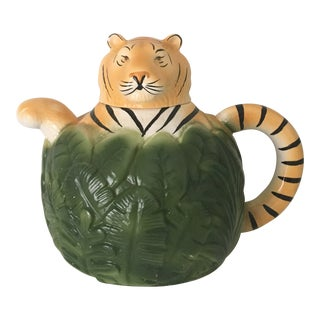 1990s Vintage Tiger Tea Pot
