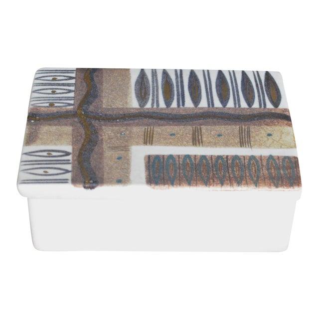 Sascha Brastoff Ceramic Box For Sale