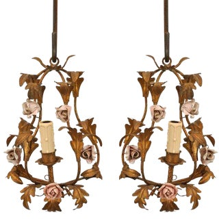 Wall Sconces - A Pair For Sale