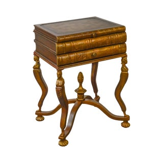 Maitland Smith Stacking Books Side Table