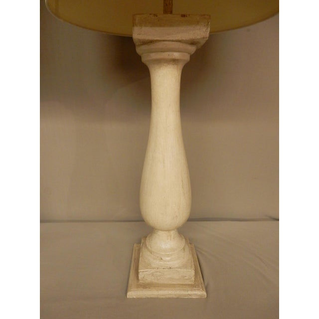 French Antique French Baluster Table Lamps - a Pair For Sale - Image 3 of 5