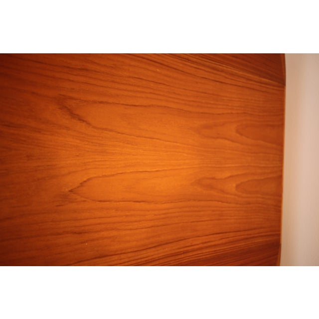 Solid Teak Round to Oval Dining Table - Image 7 of 10