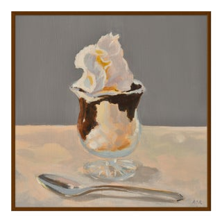 "Medium ""Hot Fudge Sundae"" Print by Anne Carrozza Remick, 38"" X 38"" For Sale"