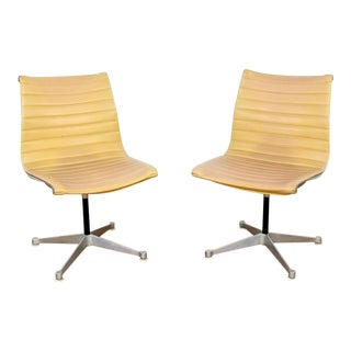 Vintage Mid Century Eames for Herman Miller Aluminum Group Chairs-A Pair For Sale