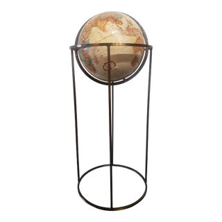 Replogle World Class Series Globe With Brass Tone Finish Stand For Sale
