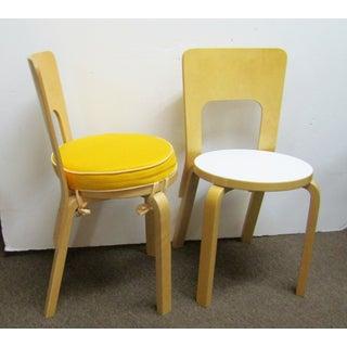 Artek Alvar Aalto 66 Chairs- A Pair Preview