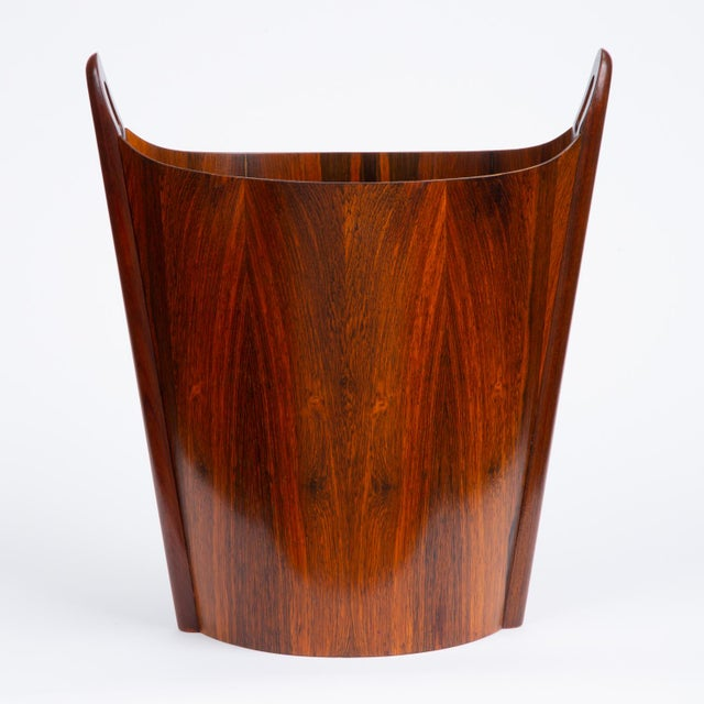 Norwegian Rosewood Wastebasket by Einar Barnes for P.S. Heggen For Sale - Image 12 of 12