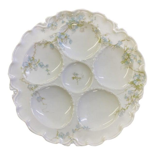 Haviland Limoge Oyster Plate For Sale