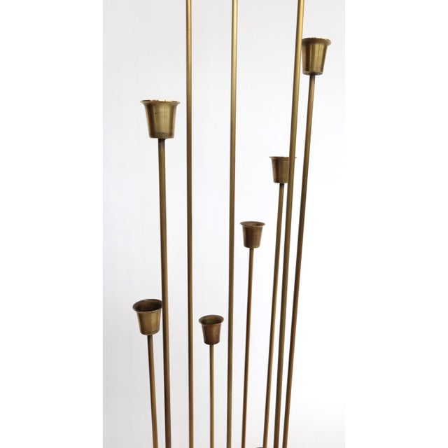 """Mid-Century Modern """"Teo"""" 11 Cup Candleholders - a Pair For Sale - Image 3 of 6"""