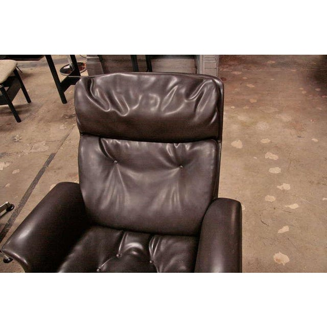 Brown Italian 1970 Swivel Armchairs by Anonima Castelli For Sale - Image 8 of 11