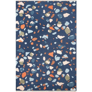 Novogratz by Momeni Jem Terri in Navy Rug - 8'X10' For Sale