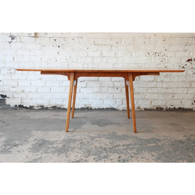 Jens Risom Jens Risom Mid-Century Modern Maple Dining Table For Sale - Image 4 of 11