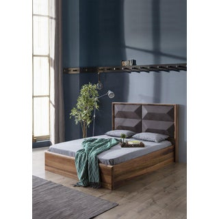 Statements by J Mario Upholstered Wood Bed Queen Preview