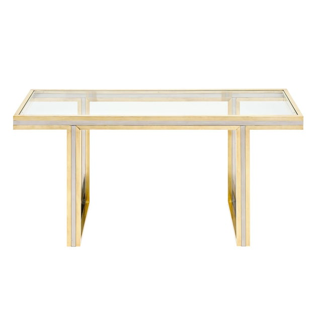 Romeo Rega Signed Console Table For Sale - Image 10 of 10