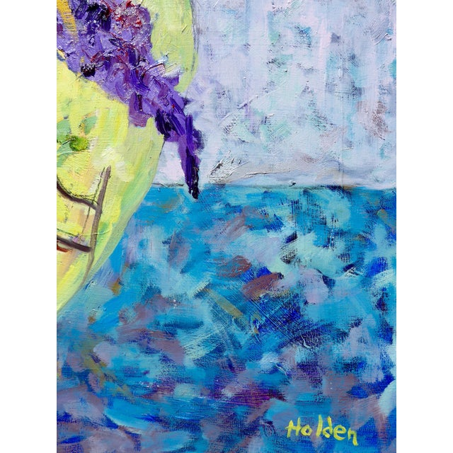 Wildflowers - Large Oil Painting by Martha Holden For Sale In Los Angeles - Image 6 of 10