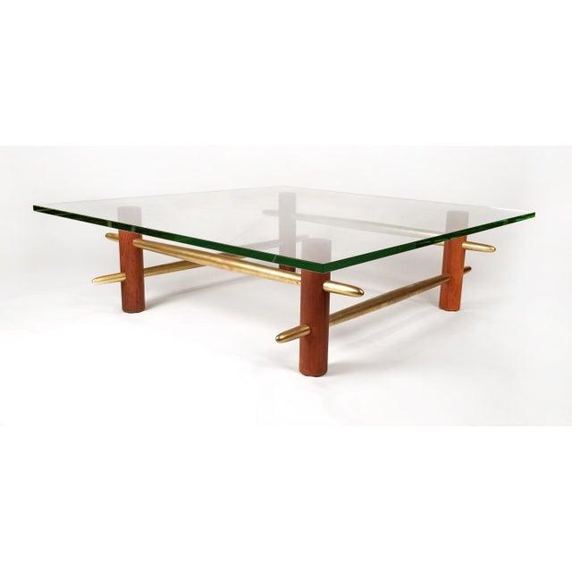 T.H. Robsjohn Gibbings Coffee Table, Model 1640 by t.h. Robsjohn Gibbings for Widdicomb For Sale - Image 4 of 6