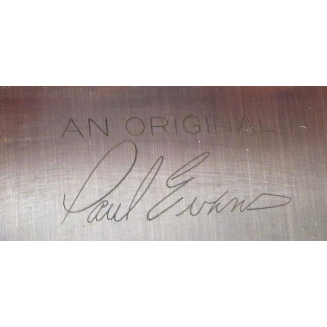 """Paul Evans """"Cityscape"""" Burlwood Executive Desk For Sale In New York - Image 6 of 13"""