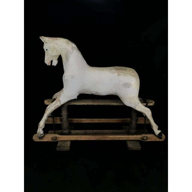 Mid 19th Century British Carved and Painted Wood Merry-Go-Round Carousel Horse For Sale - Image 13 of 13