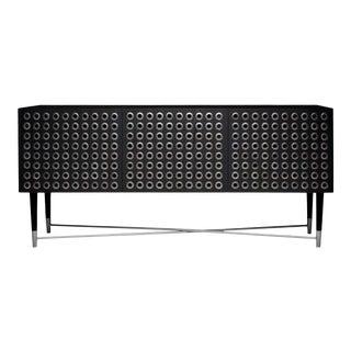 Modern Kuro Cabinet in Black Oak For Sale