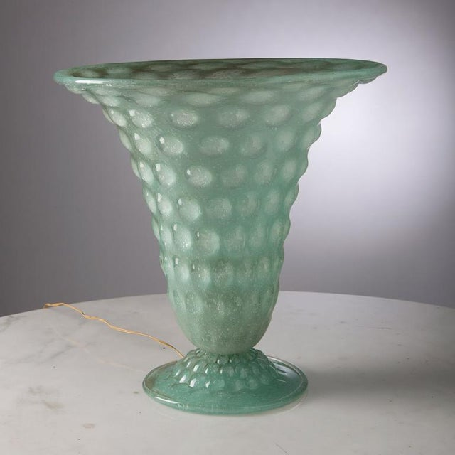 Marvellous Murano Table Lamp For Sale - Image 4 of 5