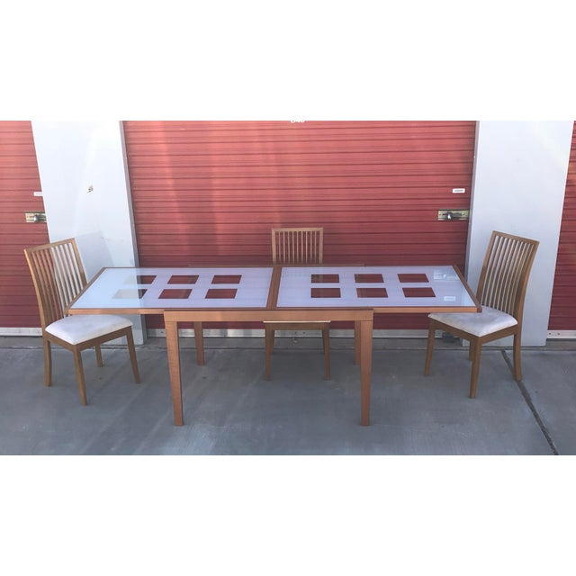 Esf Poker Expandable Dining Table Chairs Set Chairish