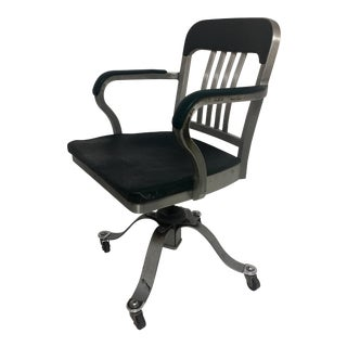 Remington Rand Industrial Aluminum Chair