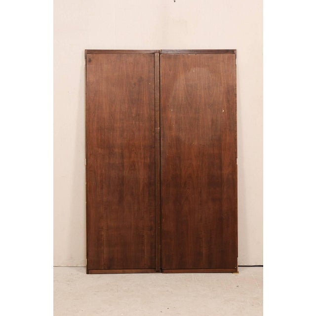Red Italian Mid-20th Century Vintage Doors For Sale - Image 8 of 10