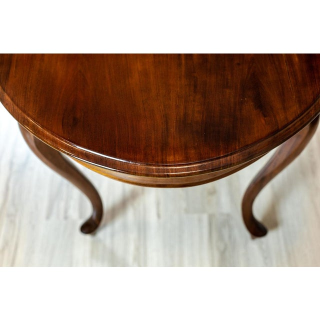 Wood 19th-Century Louis Philippe Living Room Table For Sale - Image 7 of 8
