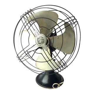 Vintage GE Vortalex Oscillating Table Fan