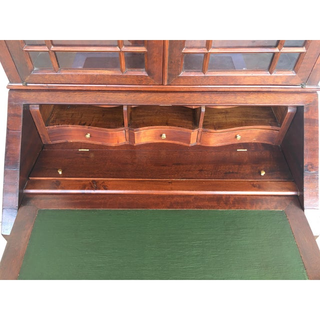 18th Century Louis XVI Style French Inlaid Secretary Desk For Sale - Image 12 of 13