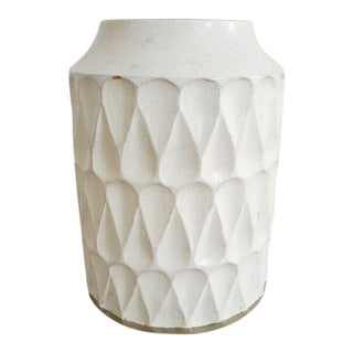 Crate & Barrel Oversized Ceramic Vase