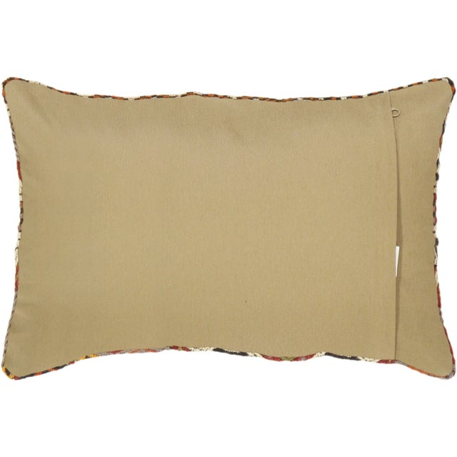 Vintage Turkish Kilim Pillow - Image 2 of 2