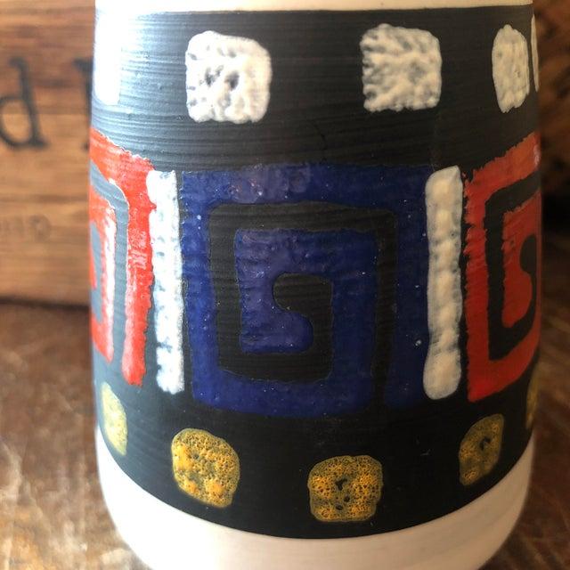 German Mid Century Art Pottery Vase For Sale In Birmingham - Image 6 of 8