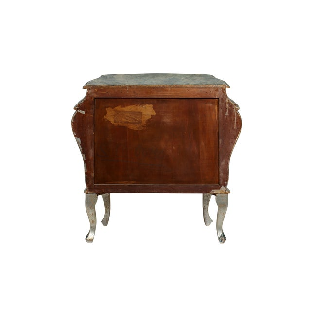 Hand Painted Italian-Style Commodes - Pair - Image 4 of 6