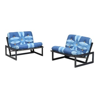 Last Call Tobia Scarpa for Cassina 1967 Carlotta Chairs - a Pair