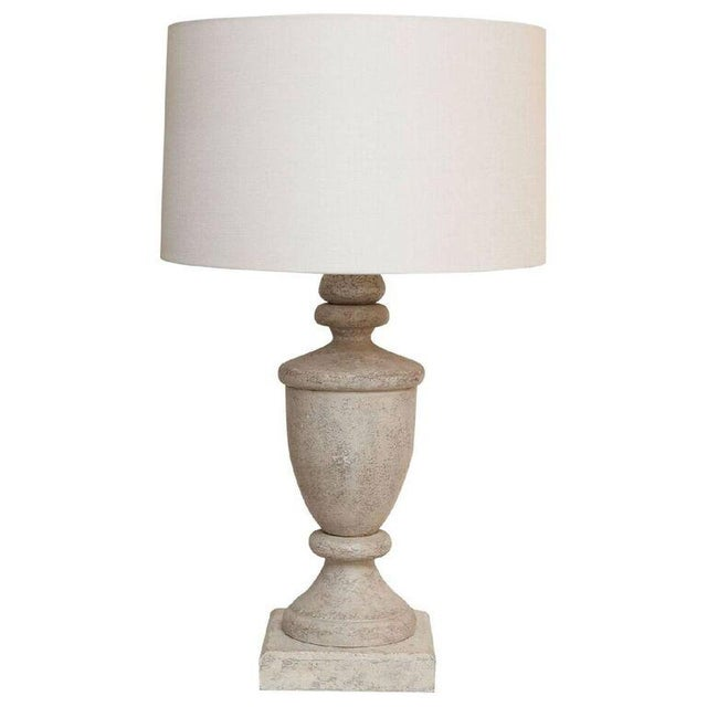 Pair of Painted Finials as Custom Table Lamps - Image 4 of 5