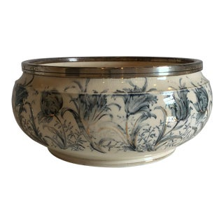 1940s Vintage Glazed Earthenware Bowl