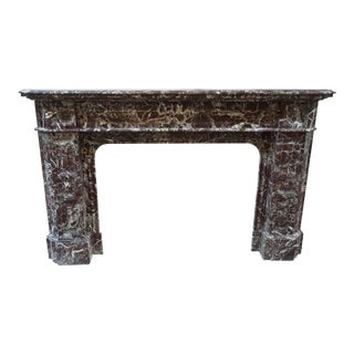 Louis XIV Marble Mantel For Sale