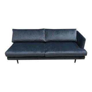 Regency Velvet Sofa Loveseat Couch For Sale