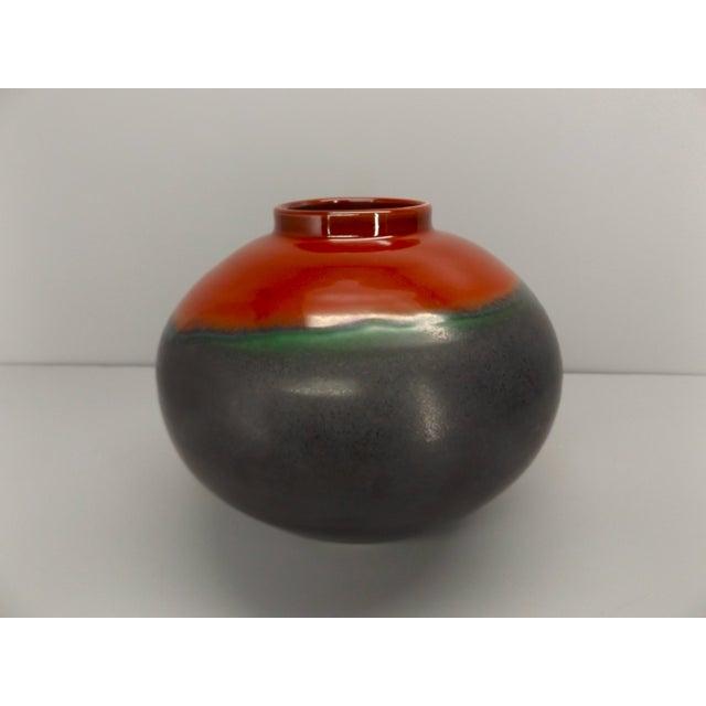 Japanese Style Angela Fina Ikebana Vase For Sale - Image 4 of 4