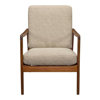 Danish Modern Teak Armchair by Ole Wanscher for France & Son For Sale