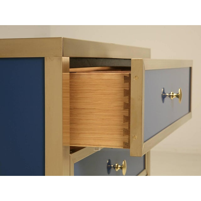 Modern Bathroom Vanity From the Old Plank Collection For Sale - Image 3 of 10