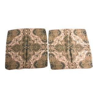 Lee Jofa Italian Paisley Pillow Covers - a Pair For Sale